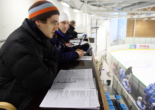 The Ice Hockey Scouts: Sport Students Test An Observation System In Finnish Vierumaki