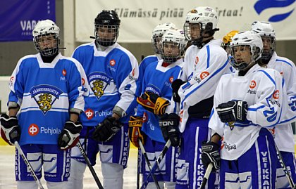 15 year old Finnish ice hockey player face the scouting procedure. Photo: Prof. Dr. Oliver Stoll