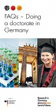 FAQs Doing a doctorate in Germany